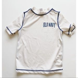 Boys- White Rash Guard